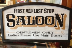 First and Last Stop Saloon