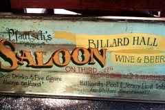 Billard Hall Saloon